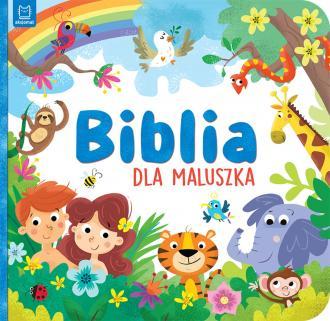 Biblia dla maluszka - okładka książki