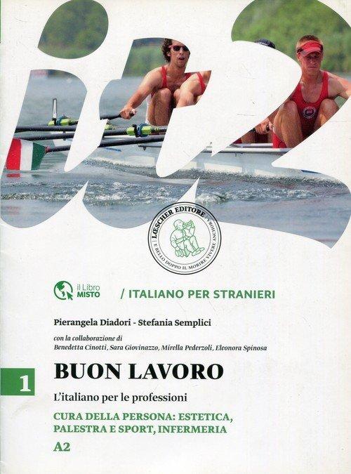 Buon lavoro 1 L italiano per le - okładka podręcznika