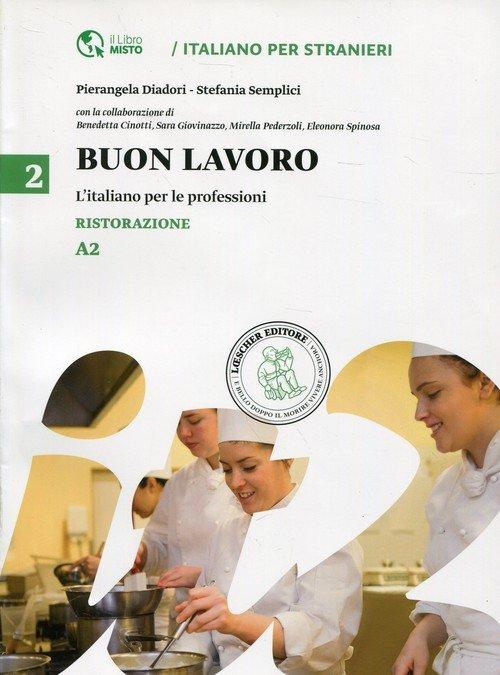 Buon lavoro 2 L italiano per le - okładka podręcznika