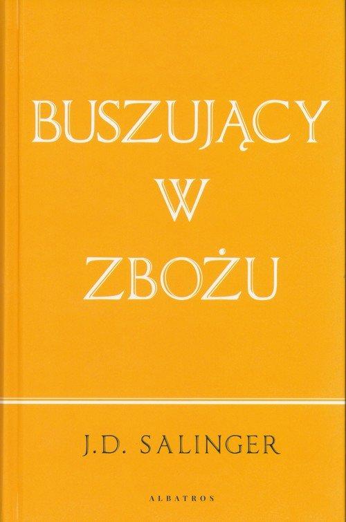 Buszujący w zbożu - okładka książki