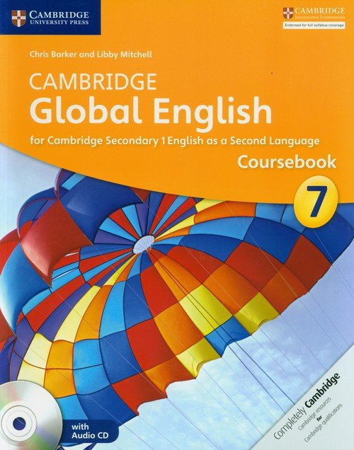 Cambridge Global English 7 Coursebook - okładka podręcznika