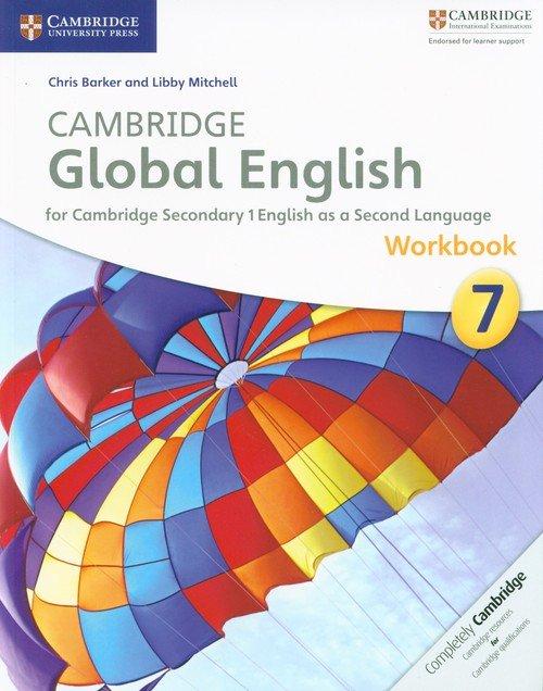Cambridge Global English 7 Workbook - okładka podręcznika