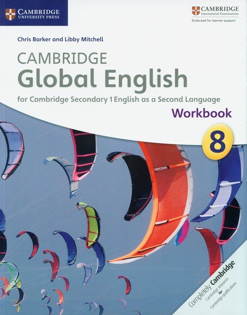 Cambridge Global English 8 Workbook - okładka podręcznika