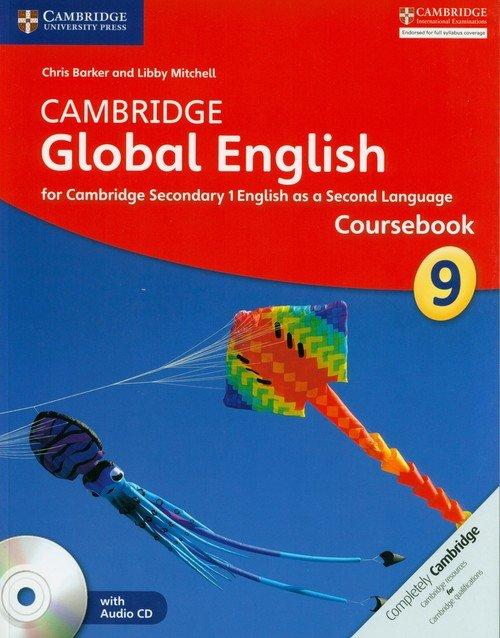 Cambridge Global English 9 Coursebook - okładka podręcznika