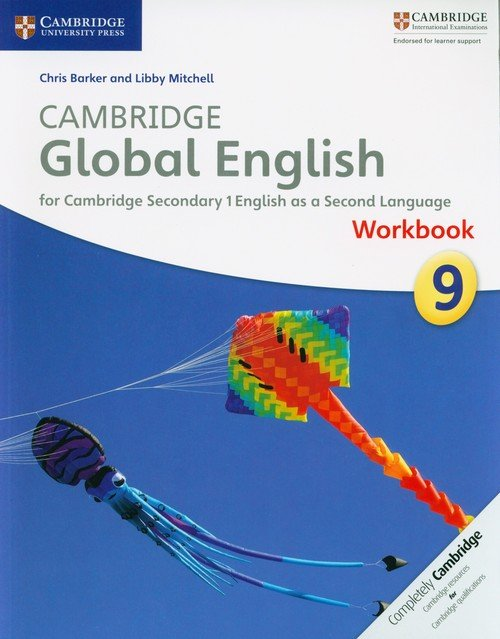 Cambridge Global English 9 Workbook - okładka podręcznika