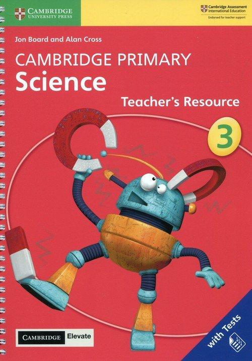 Cambridge Primary Science 3 Teachers - okładka podręcznika