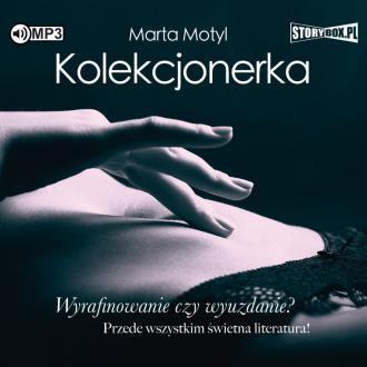 Kolekcjonerka (CD mp3) - pudełko audiobooku