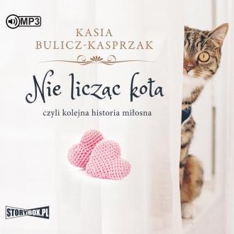 Nie licząc kota (CD mp3) - pudełko audiobooku