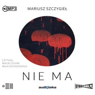 Nie ma (CD mp3) - pudełko audiobooku