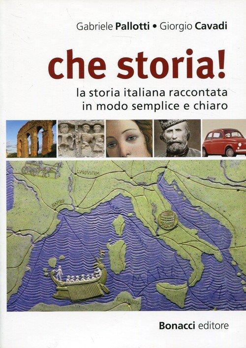 Che storia! Podręcznik - okładka podręcznika