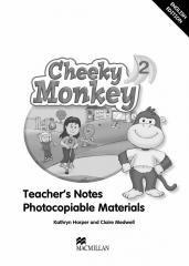 Cheeky Monkey 2. Książka nauczyciela - okładka podręcznika
