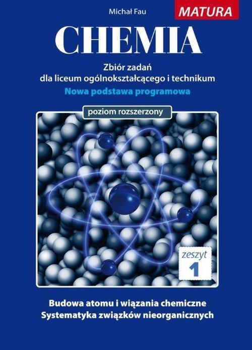 Chemia. Zbiór zadań. Zeszyt 1 - okładka książki