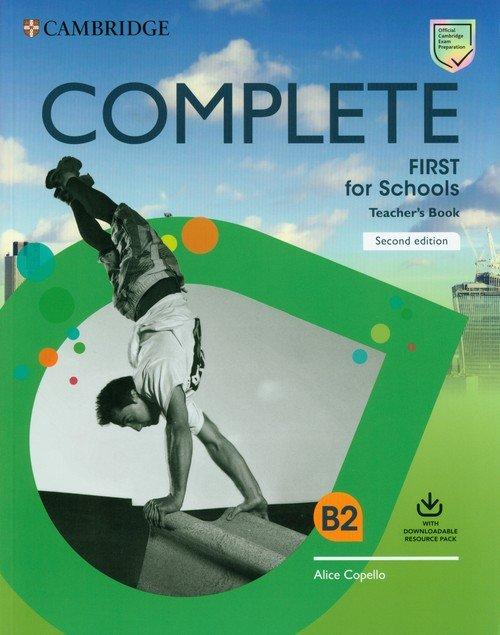 Complete First for Schools Teachers - okładka podręcznika