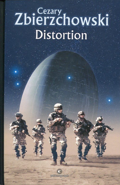 Distortion - okładka książki