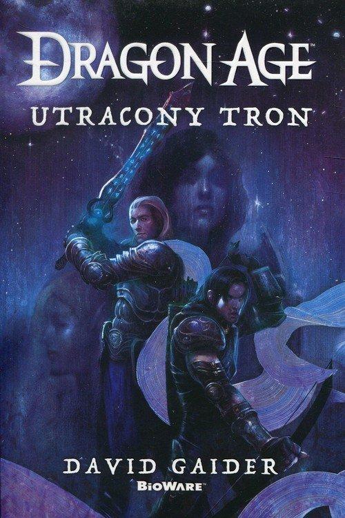 Dragon Age: Utracony tron - okładka książki