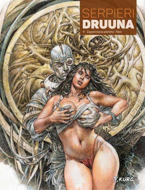 Druuna. Tom 4. Zapomniana planeta - okładka książki