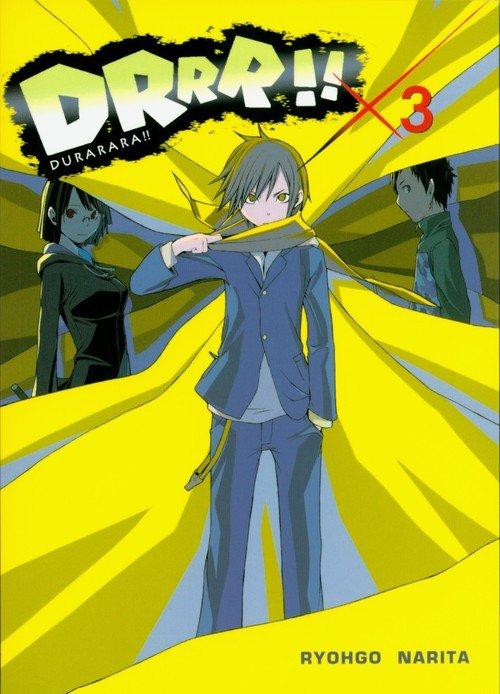 Durarara!! 3 - okładka książki