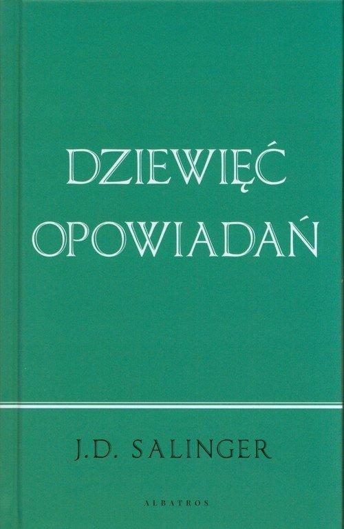 Dziewięć opowiadań - okładka książki