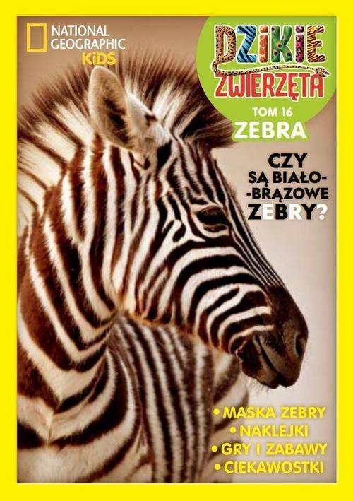 Dzikie Zwierzęta cz.16 Zebra - okładka książki