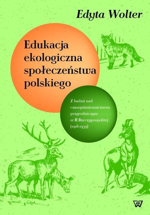 Edukacja ekologiczna społeczeństwa - okładka książki