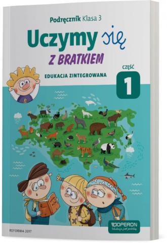 Edukacja wczesnoszkolna 3/1. Podręcznik - okładka podręcznika