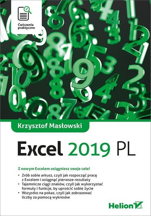 Excel 2019. Ćwiczenia praktyczne - okładka książki