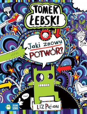 Fantastyczny świat Tomka Łebskiego. - okładka książki