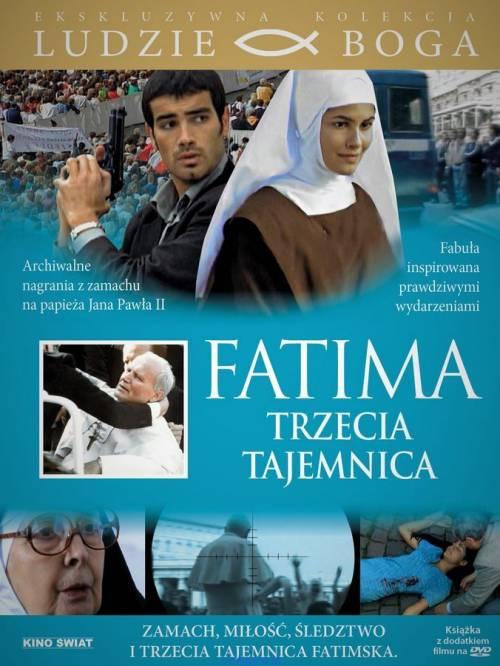 Fatima. Trzecia Tajemnic (DVD) - okładka filmu