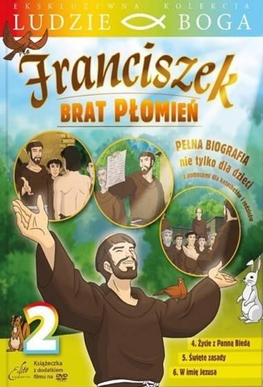 Franciszek. Brat płomień 2 (DVD) - okładka filmu