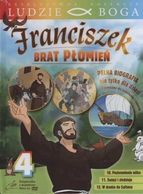 Franciszek. Brat Płomień 4 (DVD) - okładka filmu