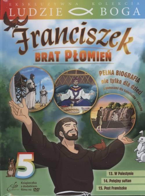 Franciszek. Brat Płomień 5 (DVD) - okładka filmu