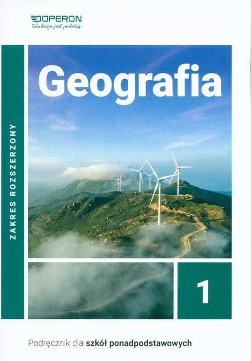 Geografia 1 Podręcznik. Szkoła - okładka podręcznika