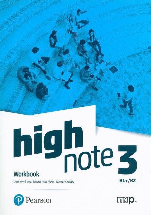 High Note 3. Szkoła ponadpodstawowa - okładka podręcznika