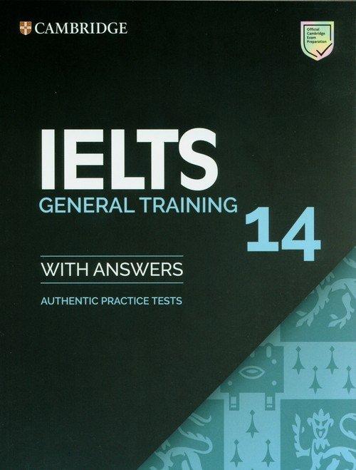 IELTS 14 General Training Students - okładka podręcznika