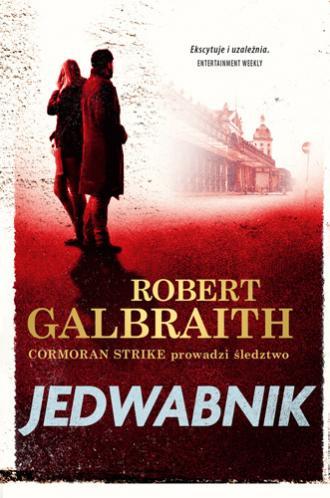 Jedwabnik - okładka książki