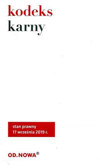 Kodkes karny - okładka książki