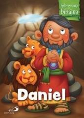 Kolorowanka biblijna. Daniel - okładka książki