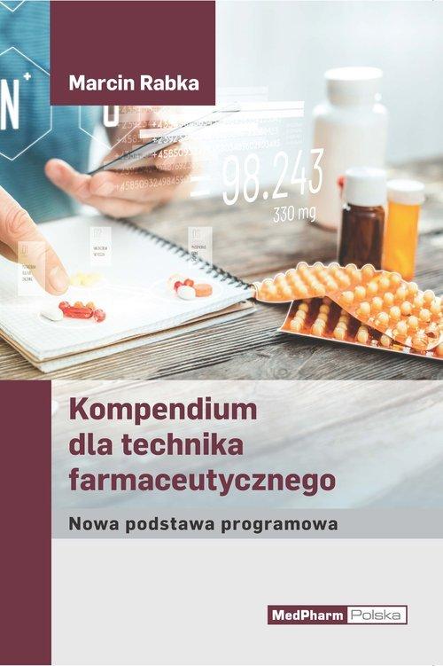 Kompendium dla technika farmaceutycznego. - okładka książki