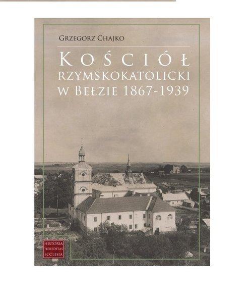 Kościół rzymskokatolicki w Bełzie - okładka książki