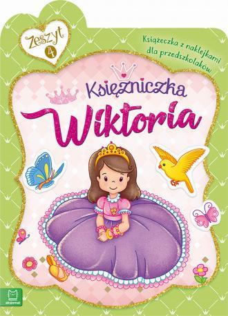 Księżniczka Wiktoria. Książeczka - okładka książki