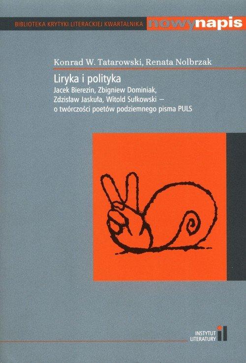 Liryka i polityka - okładka książki