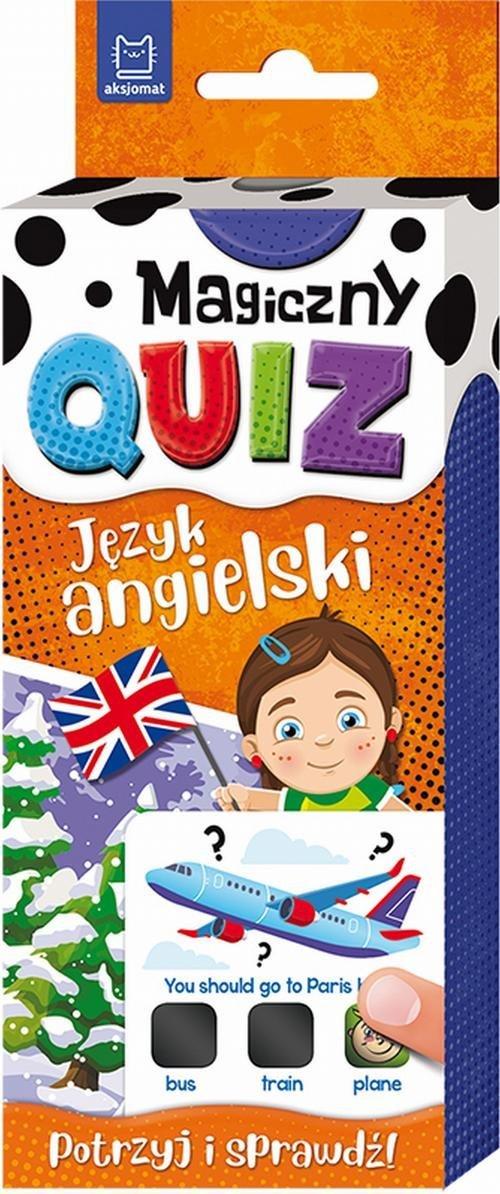 Magiczny quiz. Język angielski - okładka książki