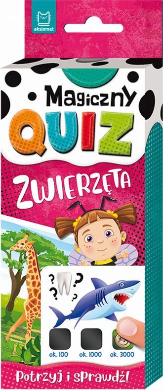 Magiczny quiz. Zwierzęta - okładka książki