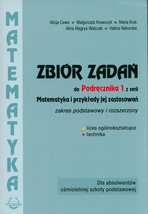 Matematyka i przykłady jej zastosowań. - okładka podręcznika