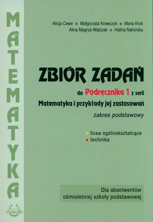 Matematyka i przykłady zastosowań - okładka podręcznika