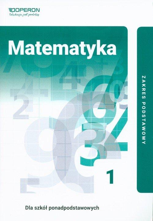 Matematyka. Liceum 1. Podręcznik. - okładka podręcznika