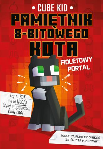 Minecraft. Pamiętnik 8-bitowego - okładka książki