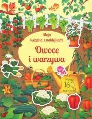 Moja książka z naklejkami. Owoce - okładka książki