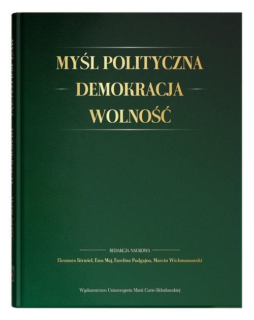 Myśl polityczna - Demokracja - - okładka książki