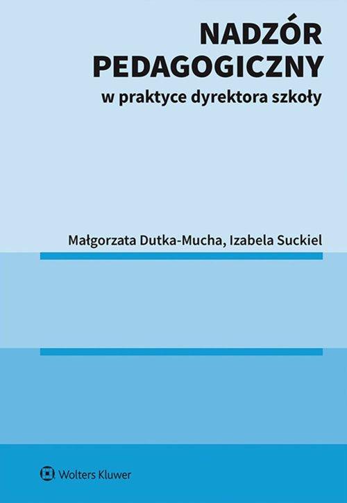 Nadzór pedagogiczny w praktyce - okładka książki